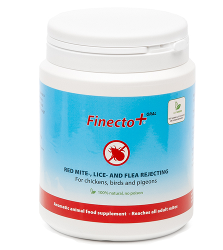 Finecto oral red mite english