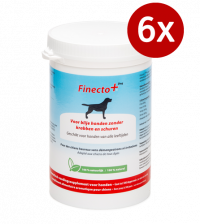 6x Finecto+ Dog (10% korting)