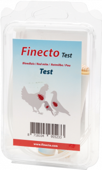 Finecto bloedluis test
