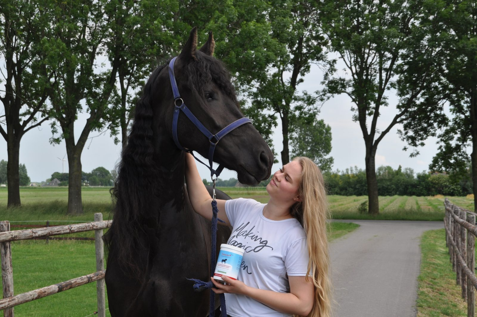 Janne test finecto horse
